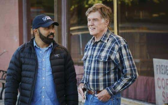 "Director Ritesh Batra discusses a scene with Redford. the material a terrible disservice. ""There's always a"