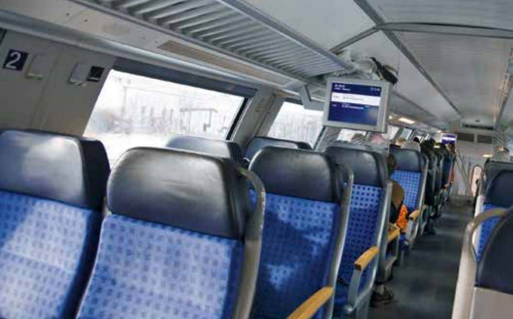 also been a noticeable development to furnish and decorate the interiors of transport modes in high