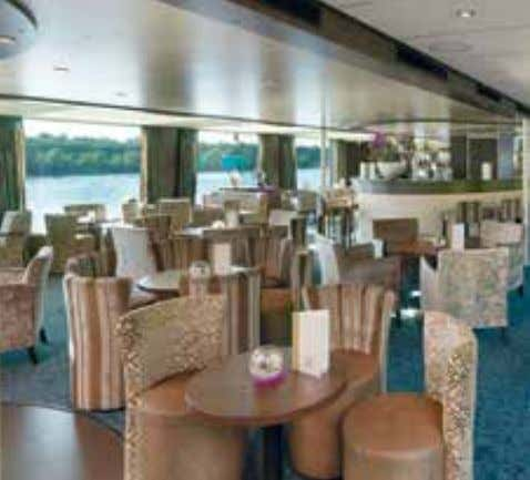 ambience for passengers on luxury liners. Trevira CS – safe on the high seas, above the