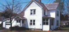 95'x160' Double/Corner Lot. Circa 1850, 4 Br, 3 up, 1 down. Eat in kit, DR,