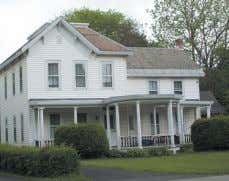 Hoosick Falls. w/ 2 baths new furnace, huge yard, deck, porch, barn. 4-BR colonial $99,500