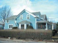 Hoosick Falls. 4 bedroom, 2 bath home featuring family room with wood stove, living room