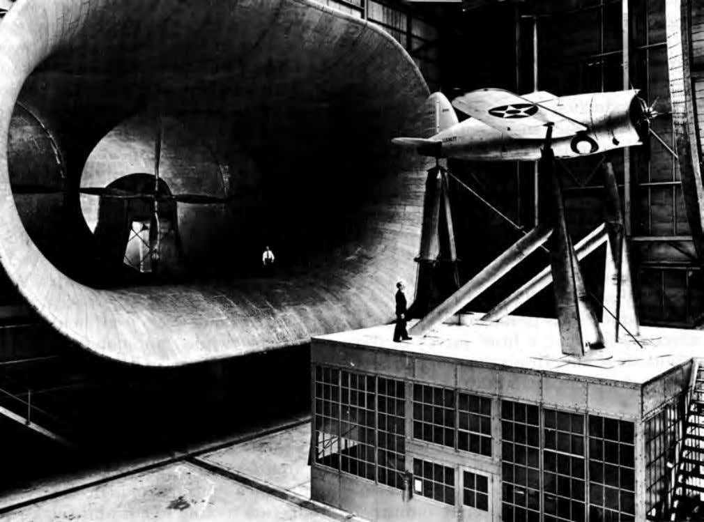 AIRCRAFT INDUSTRY ON THE EVE OF WORLD WAR II 25 NACA FULL-SCALE WIND TUNNEL AT LANGLEY