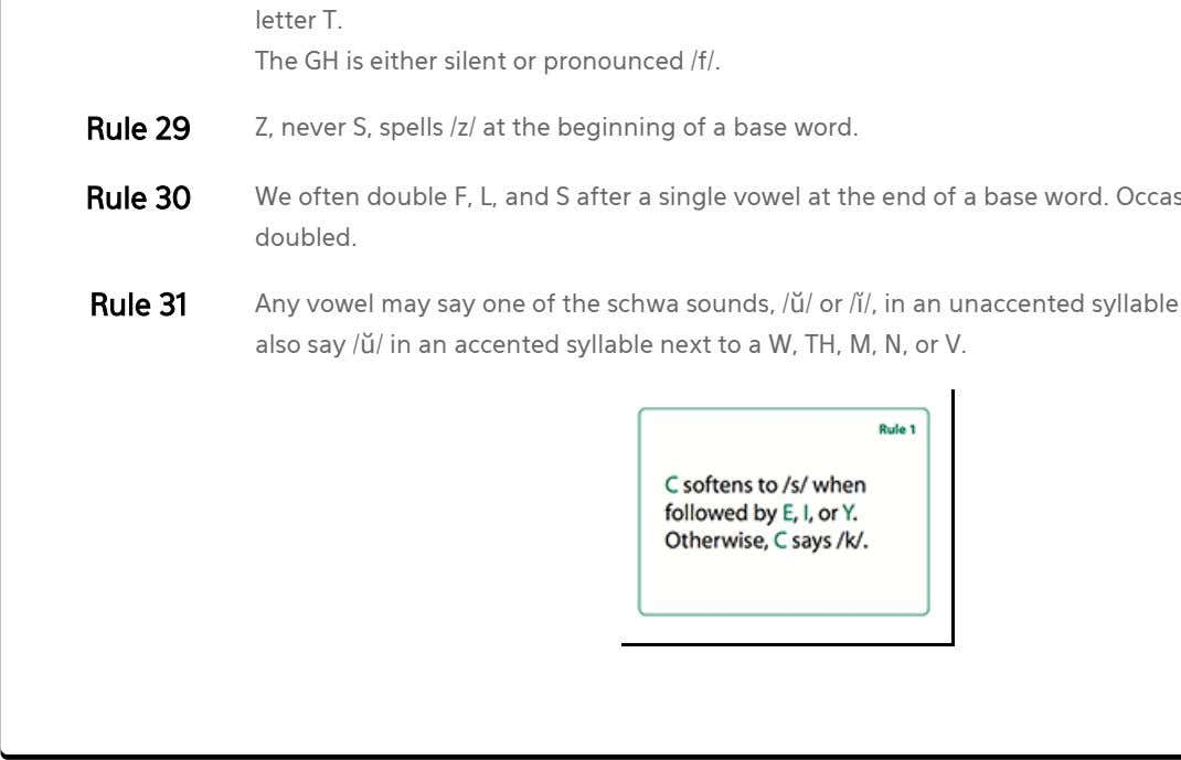 letter T. The GH is either silent or pronounced /f/. Rule 29 Z, never S,