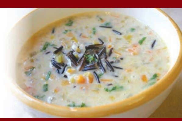 of BBQ, buffalo or teriyaki $9.49 Soups & Combos $8.95 Soup of the Day Chef's daily