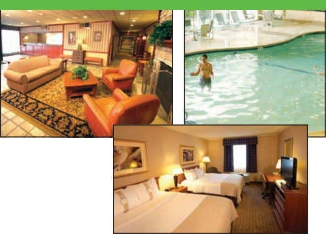 • 5 and Under FREE as guests of the hotel Accommodations 320-763-6577 • Comfortable accommodations for
