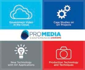Government Video Expo in Washington, D.C., December 4 and 5. (You can learn more about the