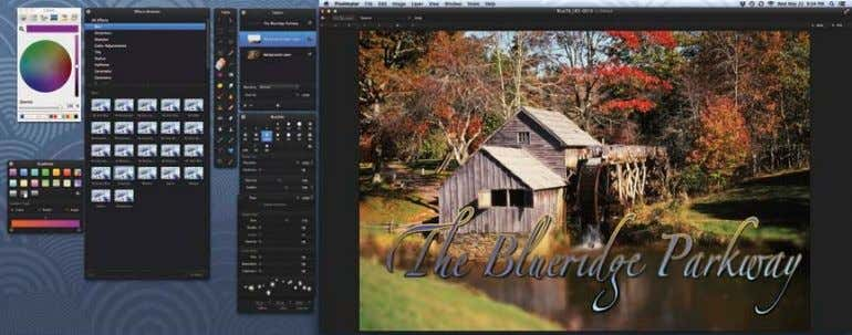 www.pixelmator. com digital video Excellence Award Pixelmator supports multiple layers and includes a wide