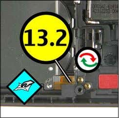 QUICK TROUBLE SHOOTER - ZOOMS PART 4 13.1 SLIDE DETECT (3) 14.1 CAMERA KEY (2) 15.1