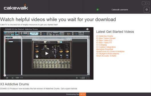 5. When installation is complete, click Launch to open Rapture Pro. Note: Cakewalk Command Center