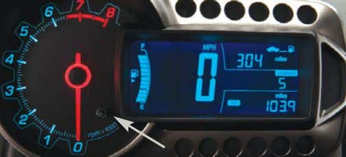 See Vehicle Care in your Owner Manual. TRIP ODOMETER RESET To reset the trip odometer that
