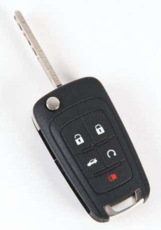 ( Sedan model only) Press and hold to unlock the trunk. Vehicle Locator/Panic Alarm Press and