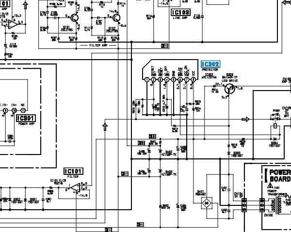 DIAGRAM (SA-WMS215) • See page 3 for IC block diagram. 4 4 The components identified by