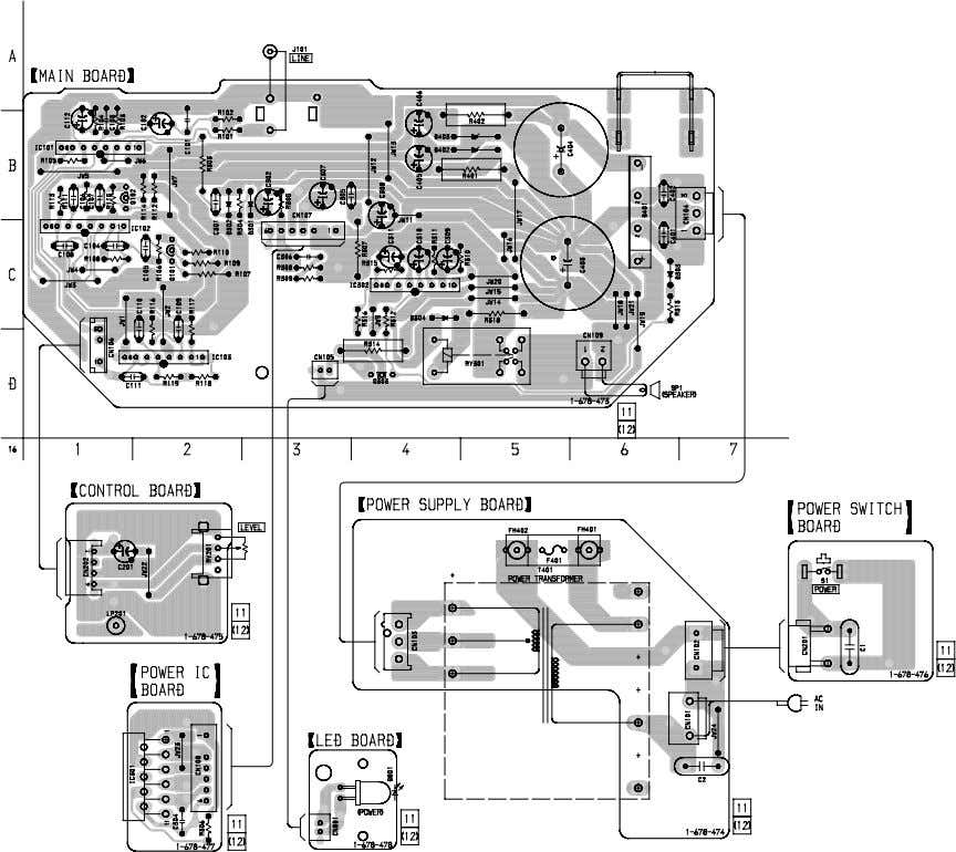 S 2 1 5 ) • See page 3 for Circuit Boards Location. 5 5 SA-VE215/WMS215/SS-MS215