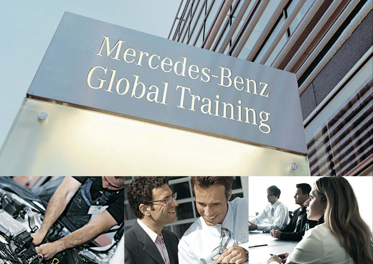 Global Training - The finest automotive learning Tecnologia BlueTec5