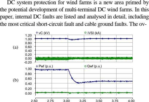 DC system protection for wind farms is a new area primed by the potential development