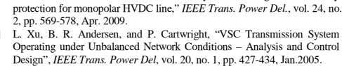 "Network Conditions – Analysis and Control Design"", IEEE Trans. Power Del , vol. 20, no. 1,"