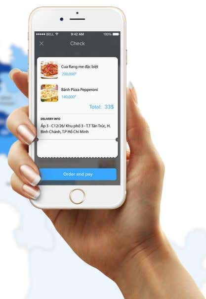 BINH CHANH ONLINE ORDERING Restaurants can expand their catchment area with online ordering Increasing reach through