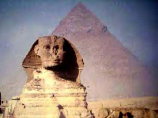 the entire civilization to the Persian and Greek conquest. Plate 1: The Great Sphinx of Ancient