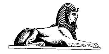 The Heru-m-akhet (Sphinx) Pharaonic headdress. 2 2 Figure 8: Below- Drawing of the Sphinx from a