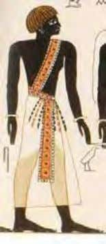 depicted in the Tomb of Seti I Rtji Ancient Egyptian Ahsu Ancient Nubian There are two