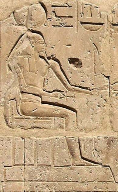 """Temple of Millions of Years"" of King Sethi I at west 'Uaset'-Thebes, detail from the"