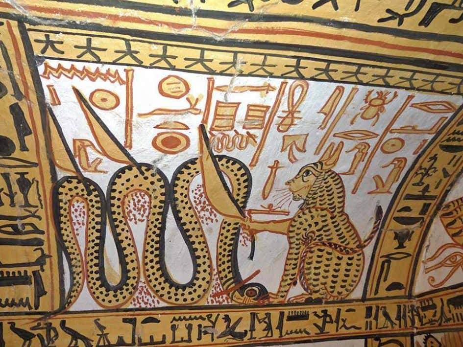 """The Great Cat, Who appears in the image of Ra"": the Almighty Sun God Ra"