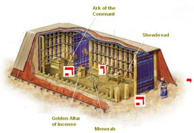 of YHVH through your understanding and pre-set-up-ideas. Inside the Holy Place you will find the Menorah