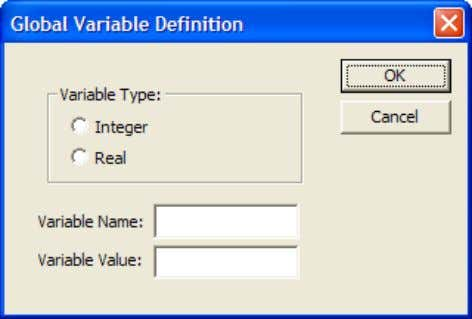 Define the value and the variable name Click…OK…Close Bsim simulation contd… Double click on the Pressure