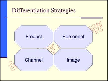 Differentiation Strategies Product Personnel Channel Image