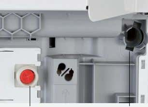 "2012 Connection External control element Network port Power Cold water ¾"" Wastewater connection Immagine di esempio"