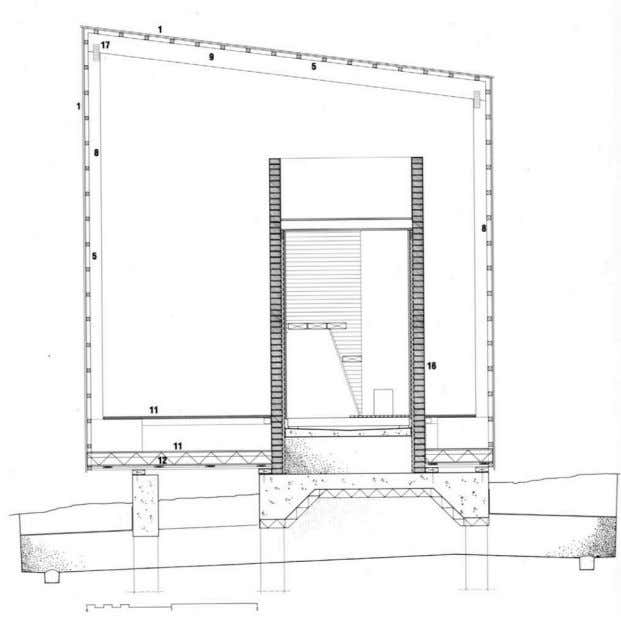 Portal Frame Section Drawing 52 ARBE2100 Week 3 03
