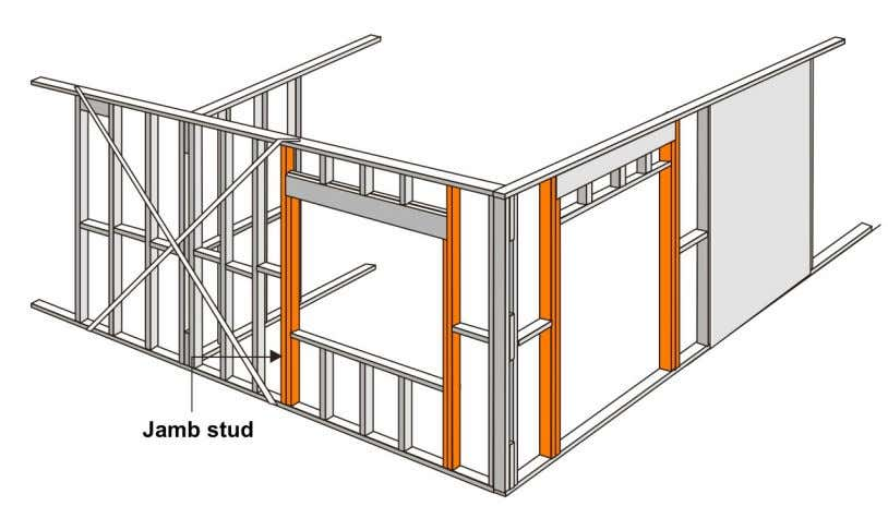 Stud Framing Elements 70 ARBE2100 Week 3 03