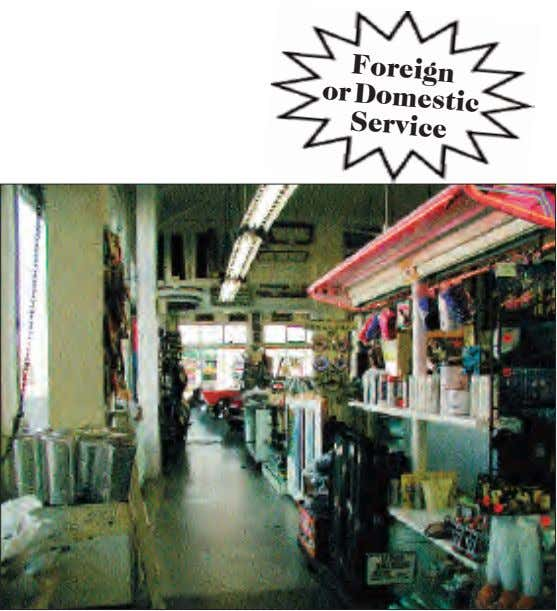 Foreign orDomestic Service