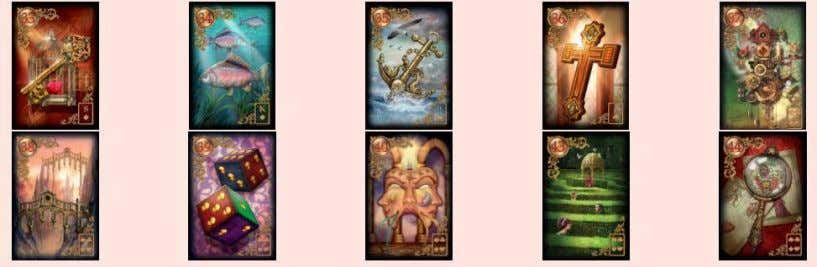 GILDED REVERIE LENORMAND – EXPANDED EDITION 7