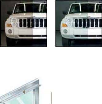 † Insulated glass not available. TINT GRAY BRONZE GREEN Interior ClearView Aluminum Strut CONSTRUCTION Glass Panel