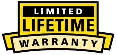 from Limited Lifetime to 1-year time periods. Coverage within the defined warranty periods do not decrease