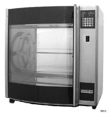 CATALOG OF REPLACEMENT PARTS Rotisserie Ovens HR7E ROTTISSERIE OVENS (MLs - 132092, 132093, 132094, 132095)