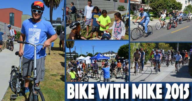 "On On May May 2, 2, Mike Mike hosted hosted his his first first ""Bike"