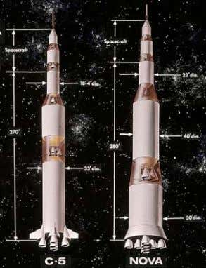 for Nova. It seemed to be an unearthly vehicle in many ways. 35. Saturn V (C-5)