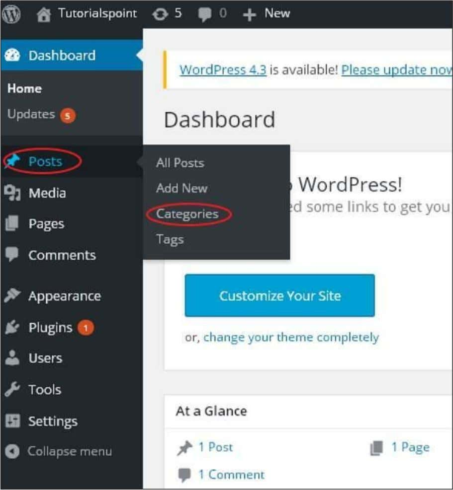 are the simple steps to edit categories in WordPress. Step (1): Click on Posts -> Categories
