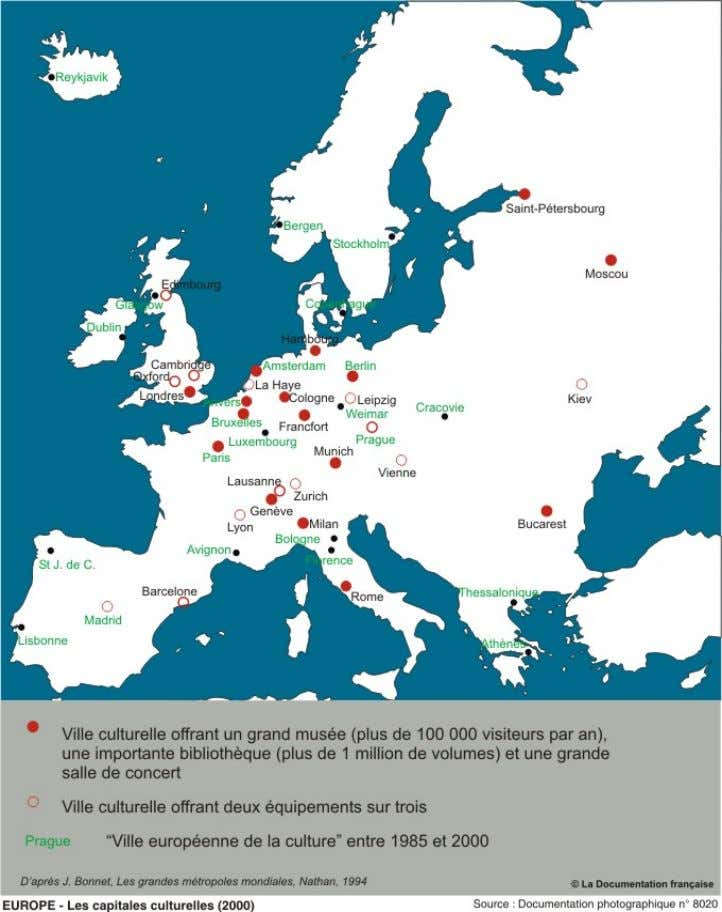 13/22 (Source < http://www.ladocumentationfrancaise.fr/cartotheque/capitales-culturelles-europeennes-2001.shtml