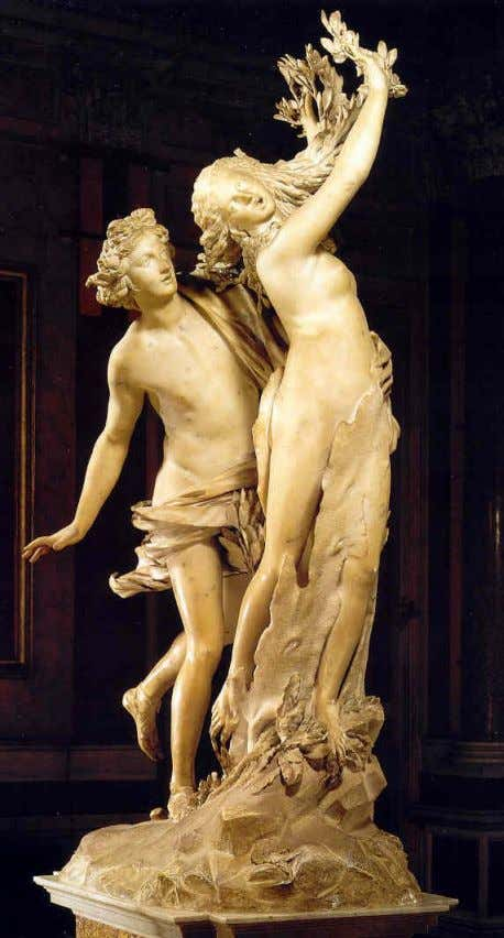 G.L. Bernini: Apolo y Dafne (1622-25)