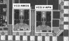 Optimum current mirror ratio for VCOs [Park, IEEE MTT09] V-NPN C E B E C N+