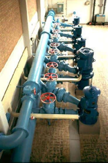 CT5550 - Water Transport Fig. 3.23 - Multiple pumps in parallel Pumps can also be configured
