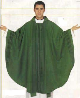 of the people of God. Cope : a great cloak-like garment, is worn by a priest