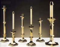 Candles: Candles carried in procession by servers. Paschal Candle: This candle represents Christ whose light