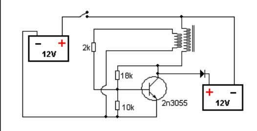 Here is the circuit I am using for the picture above. This is originally designed