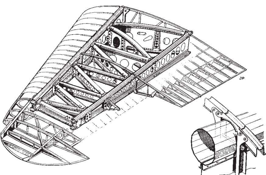 History 9 Fig. 2.4(b) Hawker Hurricane wing construction. (From 'Aircraft Production' courtesy of IPC Transport