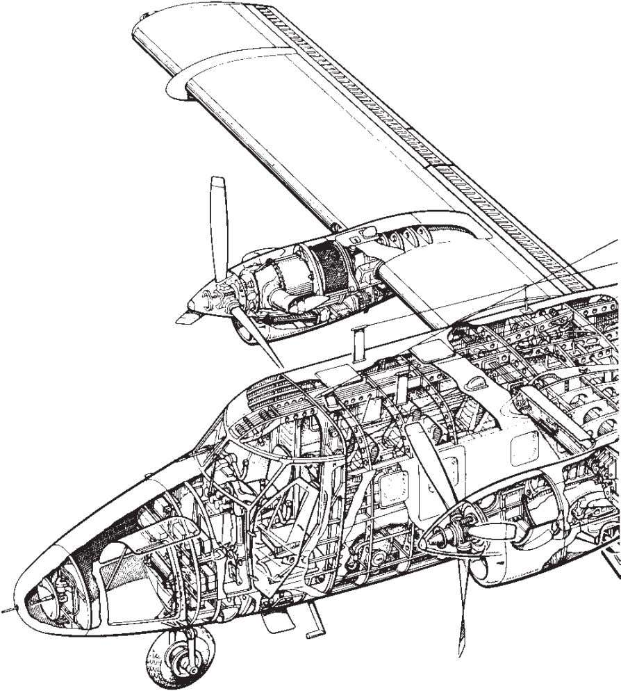 16 Understanding Aircraft Structures Fig. 2.8(a) De Havilland Canada Twin Otter. (Courtesy of The de Havilland